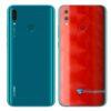Huawei Y9 2019 Adesivo Película Traseira FX Dimension Red
