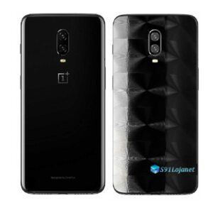 OnePlus 6 Adesivo Skin Película Traseira FX Dimension Black