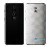 OnePlus 6 Adesivo Skin Película Traseira FX Dimension Branco