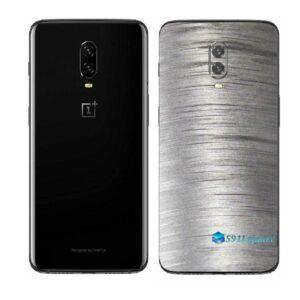 OnePlus 6 Adesivo Skin Película Traseira Metal Escovado