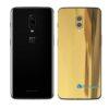 OnePlus 6 Adesivo Skin Película Traseira Metal Ouro Gold
