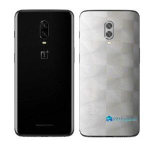 OnePlus 6T Adesivo Skin Película Traseira FX Dimensio Branco
