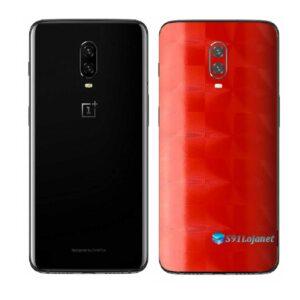 OnePlus 6T Adesivo Skin Película Traseira FX Dimension Red