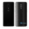 OnePlus 6T Adesivo Skin Película Traseira FX Preto Escovado