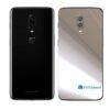 OnePlus 6T Adesivo Skin Película Traseira Metal Cromo