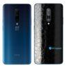 OnePlus 7 Adesivo Skin Película Traseira FX Couro Negro