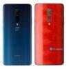 OnePlus 7 Adesivo Skin Película Traseira FX Dimension Red