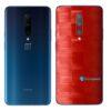 OnePlus 7 Adesivo Skin Película Traseira FX Pixel Vermelho