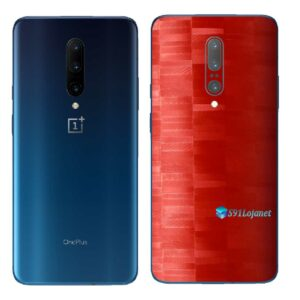 OnePlus 7 Pro 5G Adesivo Skin Película FX Pixel Vermelho