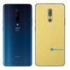 OnePlus 7 Pro 5G Adesivo Skin Película Metal Dourado