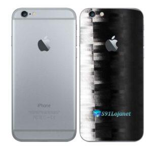 iPhone 6 Adesivo Skin Película Traseira FX Pixel Black