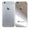 iPhone 6 Adesivo Skin Película Traseira Metal Cromo