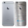 iPhone 6 Adesivo Skin Película Traseira Metal Escovado