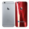iPhone 6 Adesivo Skin Película Traseira Metal Gold Red