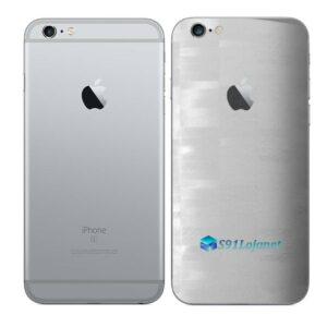 iPhone 6 Plus Adesivo Skin Película Traseira FX Pixel Branco
