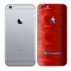 iPhone 6 Plus Adesivo Skin Película Traseira FX Pixel Vermelho