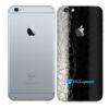 iPhone 6s Adesivo Skin Película Traseira FX Couro Negro