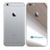 iPhone 6s Adesivo Skin Película Traseira Metal Cromo