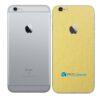 iPhone 6s aAdesivo Skin Película Traseira Metal Dourado