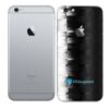 iPhone 6s Plus Adesivo Skin Película Traseira FX Pixel Black