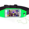 Pochete Fitness Corrida Celular Chave Academia Verde E