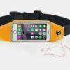 Pochete Fitness Corrida Celular Chave Academia laranja
