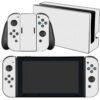 Nintendo Swicht Adesivo Skin Película Fibra Branco