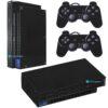 Playstation 2 PS2 Fat Skin Adesivo Película Fibra Preto