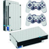 Playstation 2 PS2 Fat Skin Adesivo Fibra Transparente