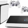 Playstation 3 PS3 Super Slim Adesivo Fibra Branco