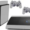 Playstation 3 PS3 Super Slim Adesivo Fibra Cinza