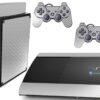 Playstation 3 PS3 Super Slim Adesivo Fibra Cromado