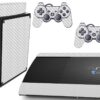 Playstation 3 PS3 Super Slim Adesivo Fibra Transparente
