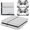 Playstation 4 PS4 Fat Adesivo Skin Fibra Transparente