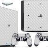 Playstation 4 PS4 Pro Adesivo Skin Fibra Transparente
