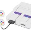 Super Nintendo Snes Adesivo Skin Fibra Branco