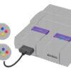 Super Nintendo Snes Adesivo Skin Fibra Cinza