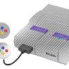 Super Nintendo Snes Adesivo Skin Fibra Cromo