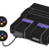 Super Nintendo Snes Adesivo Skin Fibra Preto