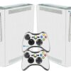 Xbox 360 Fat Adesivo Skin Fibra Branco