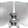 Xbox 360 Fat Adesivo Skin Fibra Cromo