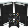 Xbox 360 Fat Adesivo Skin Fibra Preto