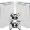 Xbox 360 Fat Adesivo Skin Fibra Transparente