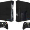 Xbox 360 Slim Adesivo Skin Fibra Preto