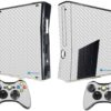 Xbox 360 Slim Adesivo Skin Fibra Transparente