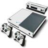 Xbox One Fat Adesivo Skin Fibra Branco
