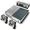 Xbox One Fat Adesivo Skin Fibra Cromo