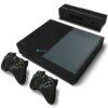 Xbox One Fat Adesivo Skin Fibra Preto