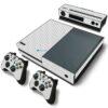 Xbox One Fat Adesivo Skin Fibra Transparente