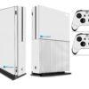 Xbox One S Adesivo Skin Fibra Branco
